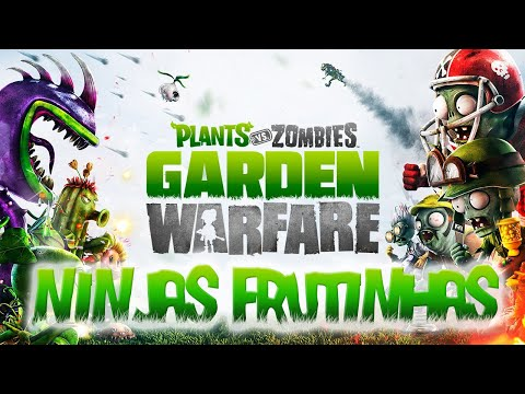 Plants Vs. Zombies Garden Warfare Ninjas Frutinhas