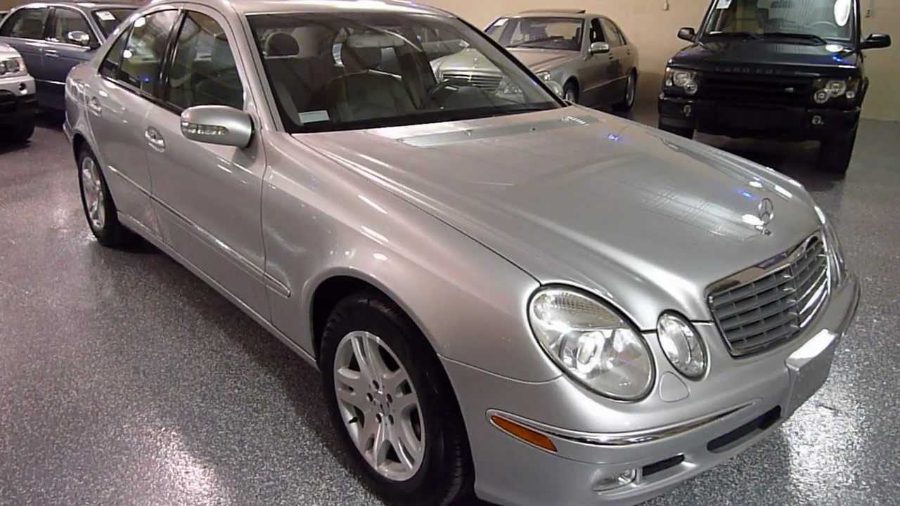 2003 mercedes benz e320 4dr sedan 3 2l sold 2219 for Mercedes benz 2003 e320
