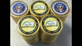 Challenge Coins from Combatbet - get your custom challenge coin today!