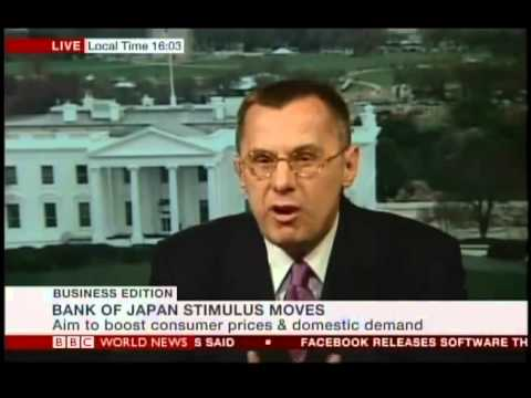 Dr. Alexander Mirtchev discusses Bank of Japan Bold Political Move on BBC World News
