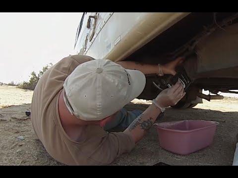 how to clean rv grey tank sensors