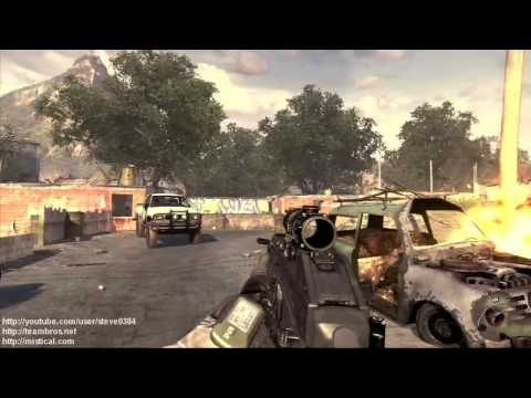Modern Warfare 2 - Intel Locations Part 1