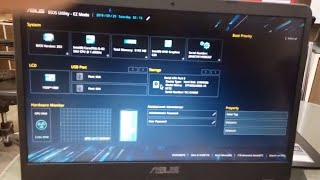 automatically enter bios when turn on asus laptop