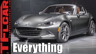2017 Mazda MX-5 Miata RF: Everything You Ever Wanted to Know