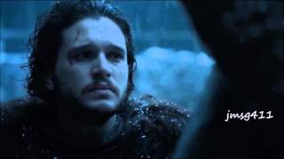 "Jon Snow ""My watch is ended"""