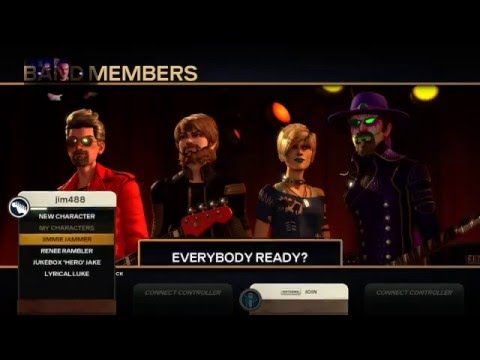 Rock Band 4 Newly Acquired Songs, Hard Guitar