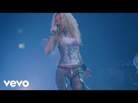 Shakira Underneath Your Clothes pop music videos 2016
