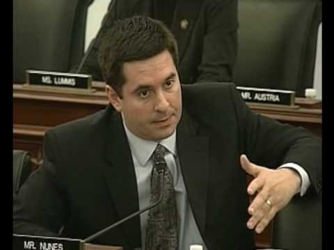 "Nunes to Geithner, ""Mr. Obama must respond to our water crisis."""