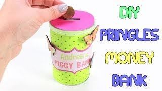 DIY Pringles Piggy Bank | Easy To Make Pringles Money Bank