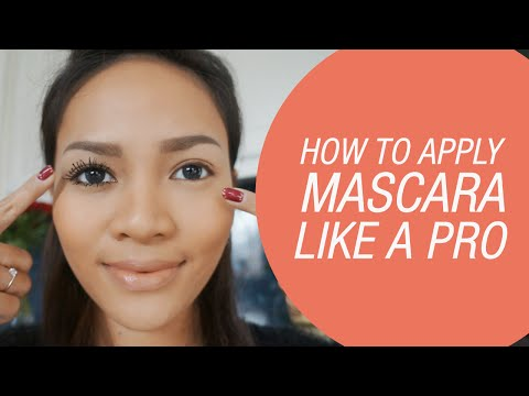 How To Apply Mascara Like a Pro by Rachel Goddard