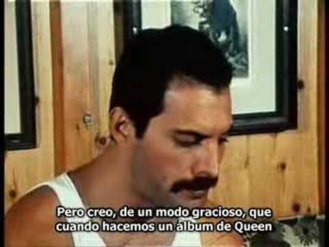 Freddie Mercury interview 1 - traducida - YouTube
