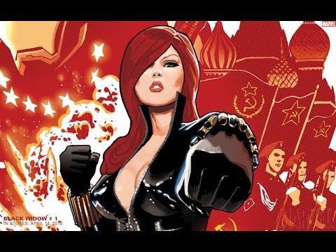 Marvel : Команда Супергероев - Черная Вдова.