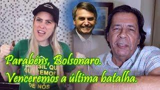 Parabéns, Bolsonaro, os ladrões das urnas serão derrotados.