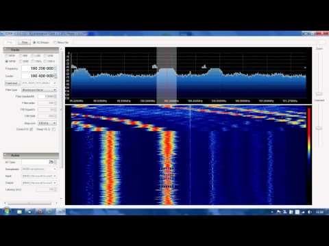 FM bandscan in Raisio, Finland, 4.6.2012 about 11.55 local time