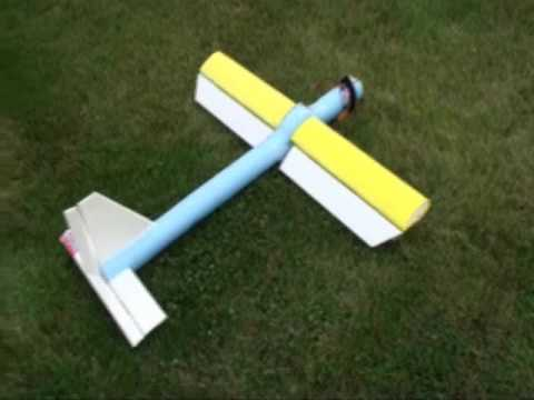 Home Brew Diy Rc Plane Made From Pool Noodle Youtube