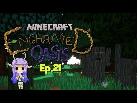 upsetting The Tree Gods Minecraft Enchanted Oasis Ep 21 video