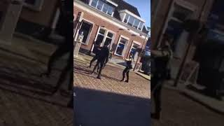 Dutch Police VS  One Kickboxer