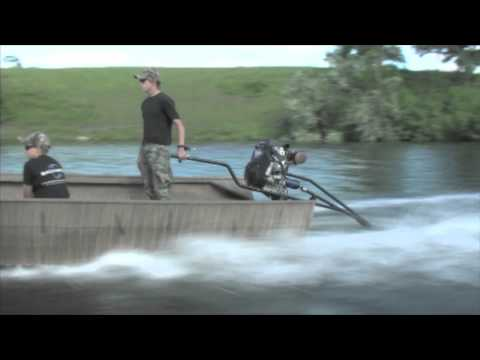 SWOMP 35 mud motor by Backwater Inc.
