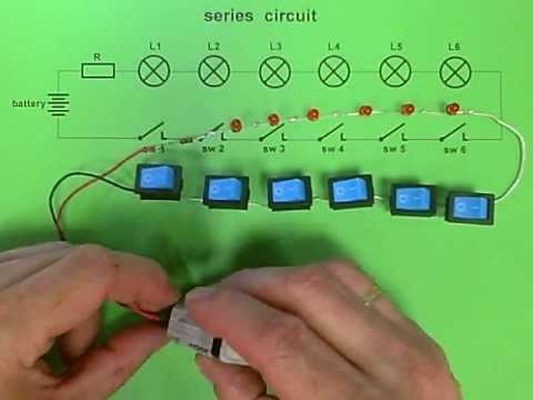 series circuit 6 leds how does it work youtube. Black Bedroom Furniture Sets. Home Design Ideas