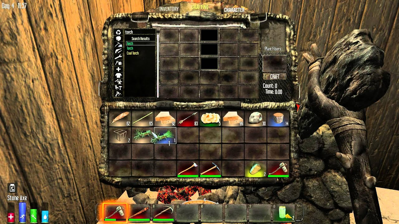 7 days to die tallow for torches