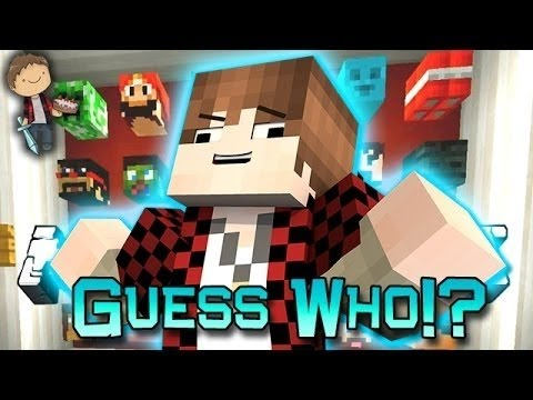 Minecraft: Funny Guess Who 3! Mini-game W mitch & Lachlan! video