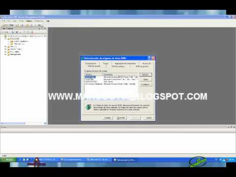 ADMINISTRAR BASE DE DATOS DE POWER DESIGNER A SQLSERVER 2008.wmv