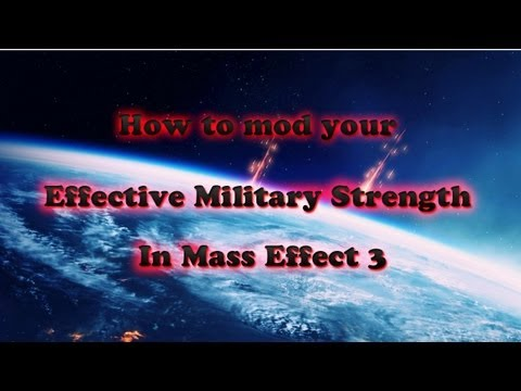 Mass Effect 3- How to mod your EMS on Xbox360 (Effective military strength)