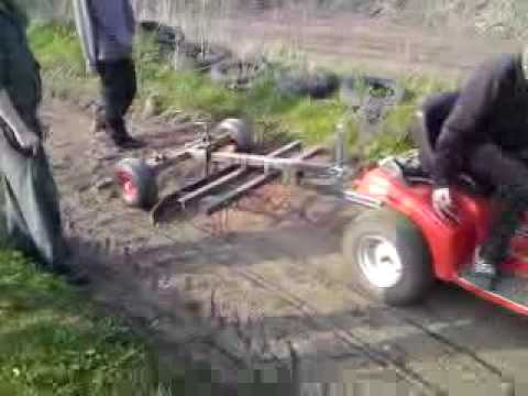 My Home Made Tiller For Lawn Mower Part 1 Youtube