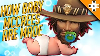 Overwatch Funny & Epic Moments 119 - HOW BABY MCCREES ARE MADE! - Highlights Montage