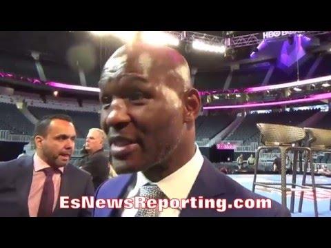A SYMPATHETIC BERNARD HOPKINS DISPLAYS HIS WORRIES FOR AMIR KHAN - EsNews Boxing