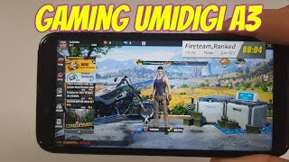 Umidigi A3 Gaming test+Battery drain/life/SOT! Screen on time! MT6739 SOC