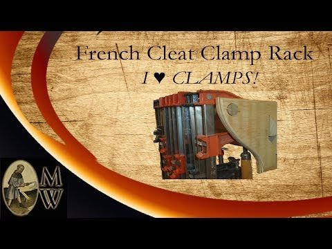 French Cleat Clamp Rack (MonkWerks)