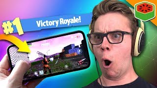 BEST MOBILE VICTORY EVER! | Fortnite Battle Royale