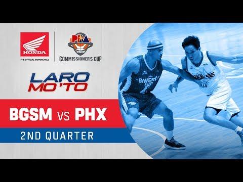 Ginebra vs. Phoenix - Q2 | PBA Commissioner's Cup 2018