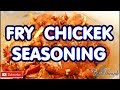 Fried chicken seasoning For Mother's Day this Sunday Jamaican Chef!!