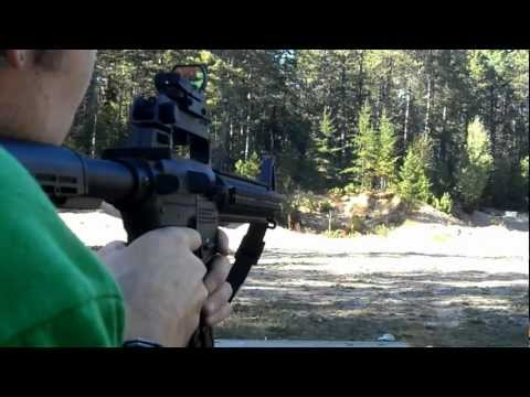 Mossberg 715T Tactical 22 + RDS/Red Dot Sight-In & Shooting