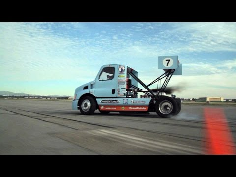 SIZE MATTERS - Semi Truck Drift Gymkhana Feature