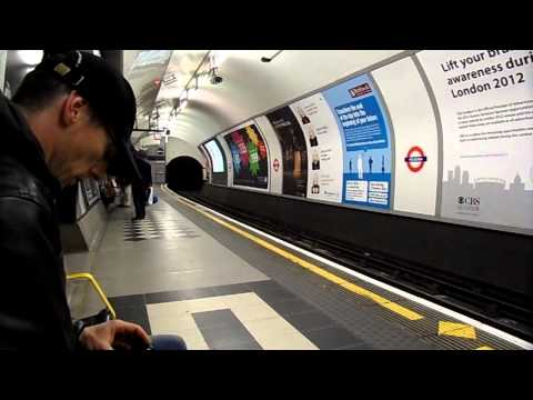 Underground (Tube) in London Mind the Gap please !