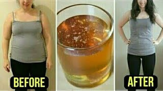 Fast Weight Loss Drink / How to Lose Belly Fat Fast / Home Remedy  - your Health & Beauty