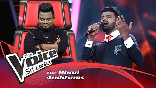 Prasanna Rupkumar - Romanthika Operawa  Blind Auditions | The Voice Sri Lanka