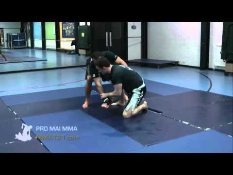 MMA 121 - Scramble To Feet Vs Control And Submit MMA Drill Image 1