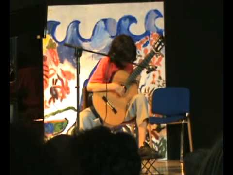 Isaac Albeniz - Rumores de la Caleta performed by 13year old