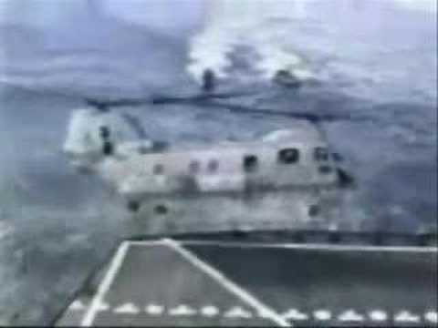 Navy CH-46 Sea Knight helicopter accident