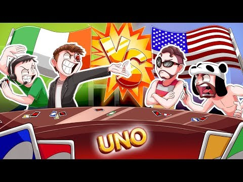 NOGLA AND TERRORISER, THE BEST UNO TEAM EVER! - UNO TEAM GAME FUNNY MOMENTS