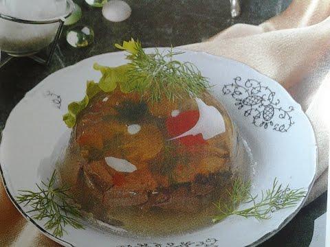 заливное из кролика фото рецепт