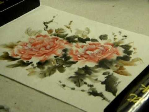 Watch practical peonies chinese brush painting tutorial