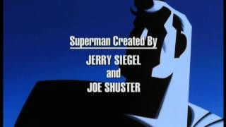 Superman : The Animated Series - ending - Superman Theme - Abschlussmusik - sigla di chiusura