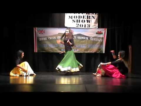 Hindi Bollywood Remix Dance - Brecon Wales UK Nepalese Youth Show