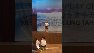 Koh Yi Jay english story telling competition 2017