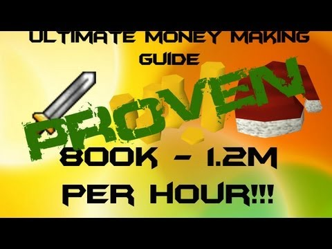RuneScape 3 EoC Money Making Guide PROOF! 800k – 1.5m + per hour 2013 RS3 Commentary